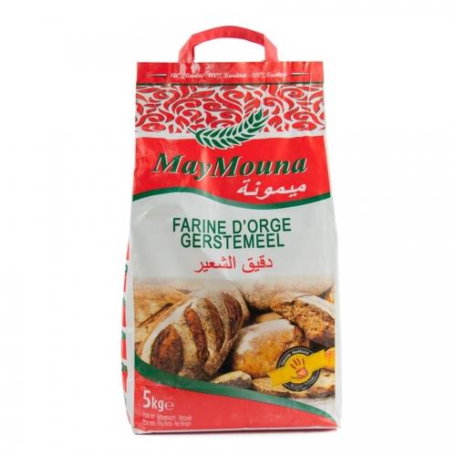 MIAFOOD - -FARINA-maymouna - -farine-d'orge-5kg