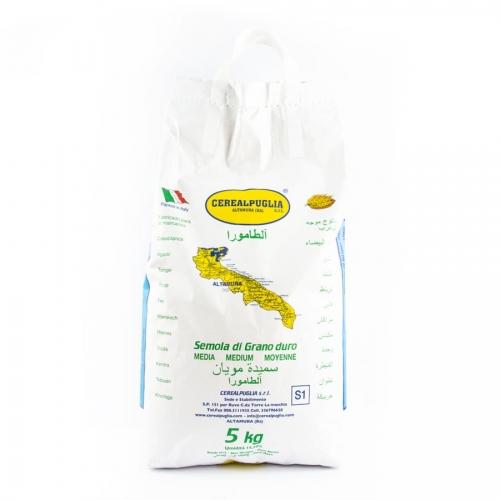 MIAFOOD - -FARINA-semola-di-grano-duro-5kg