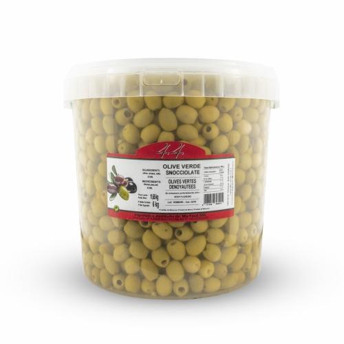 Olive verdi snocciolate - 11,65 Kg